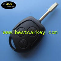 Best price car remote key for ford key ford mondeo remote key 433Mhz, 4D60 chip