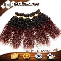 hair bundles full cuticle ombre colored ebony soft dread lock synthetic braiding hair