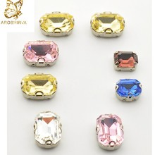Chaton Series Advanced Wholesale 5*10 Navette 4002 Fancy Stone Light Peach 6038 Faceted Fancy Stone