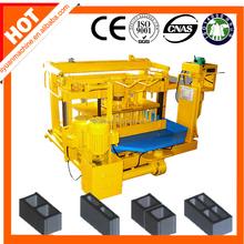 easy operate block machineQMY4-30 mobile concrete brick machine in