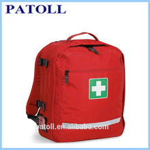 CE,FDA,ISO approved EVA outdoor sport use first aid kit medical emergency leather doctor bag for women