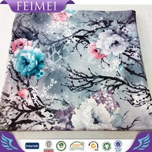 Digital Printing Cotton Knit Fabric Custom Design Availible Wholesale