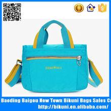 Trendy women waterproof messenger bag nylon shoulder bag tote bag