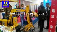 Hot sale Christmas gift of mini electric excavator, Mini kids digger