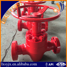 API 6A Longxin Non-rising Stem Gate Valve Used For Oil Wellhead