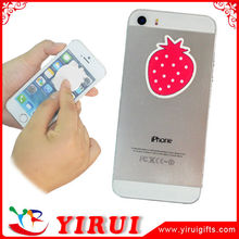 YS050 customized logo digital printed display cleaner pad for mobile phone
