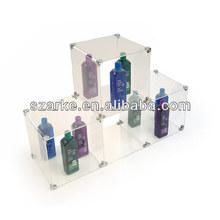 Liberdade combinação DIY acrílico cubo cubos prateleiras de armazenamento - 4