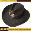 Cheap natural straw cowboy hat