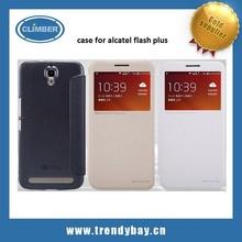 nillkin sparkle series flip leather case for alcatel flash plus