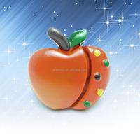 Cartoon red apple type cabinet gate dresser kids children furniture bedroom drawer pulls knobs and handles