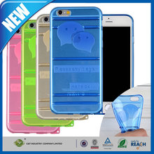 C&T 2015 Fashion new latest colorful printing tpu case for apple iphone 6 plus case