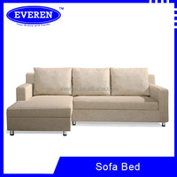 Cheap price of L shape Metal sofa cum bed