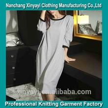 De la moda otoño invierno falda de la noche pijama/minion las mujeres pijamas/pijamas