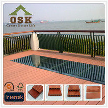 Wpc 80 Whey/wpc waterproof decking flooring/decking/wpc/Solid Wood Materials