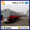 3 axle widely used crude oil tanker semi trailers