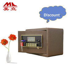 Economic home used money counting safe with two key
