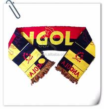 custom acrylic supporter scarf