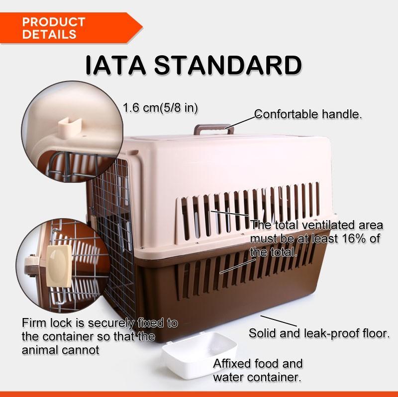 iata approved xxl large plastic dog crates