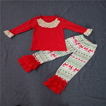 Top sale cotton newborn baby clothing giggle moon remake outfit newborn baby clothing