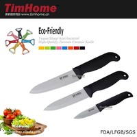 """TJC-01011 serrated knives handle knives ceramic kitchen cutlery set 3""""5""""6"""""""