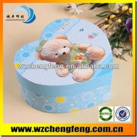 Customizable bow tie high quality padded box for bracelets