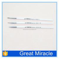 3pcs art painting brushes wholesale nail art dotting tools and brushes