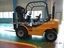 YTO 2.5ton rough terrain forklift vehicle CPCD25