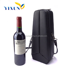 high quality cardboard paper wine carrier box factory price