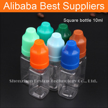 alibaba express Brown wholesale eliquid 10 ml with tamper proof & childproof cover and stopper tips for e cigarette liquids