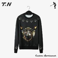 Wholesale custom sublimation crewneck sweatshirt