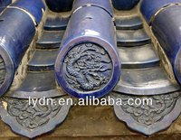Chineses dragon roof tile edging