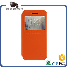 Pure Color Smartphone Leather Case For iphone 5/6