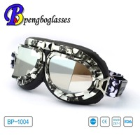 Flexible TPE frame UV400 windproof motorcycle goggles