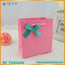 wholesale promotional printed recyclable reusable foldable custom cheap paper shopping bag