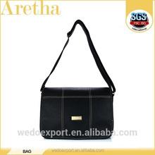 china new design hot sale business mens leather bag handbag with leather handles for men
