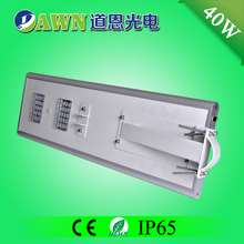 40W excellent motion sensor LED integrated all in one solar street light frigo