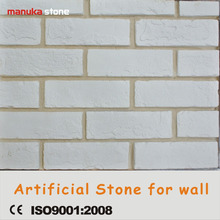 light weight loose pcs rustick antique old white wall brick