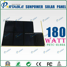 180W sunpower solar panel 18v battery new products solar cells kit