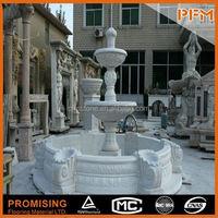 PFM Chinese handmade vivid stone sculpture angel sitting on rock statue