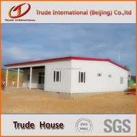 Steel frame sandwich panel prefabricated house for residental