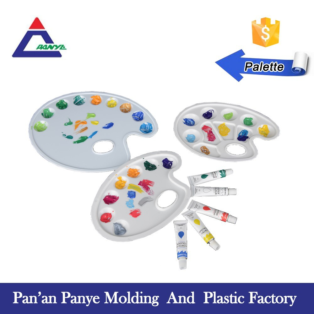 Paint Palette Drawing Paint Palette,plastic