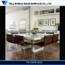China modern cafe restaurant kitchen home cheap stone dining table and chair