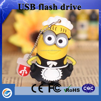 Top selling products in alibaba pendrive cartoon for promotional gift