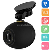 Q6 WiFi Car Camcorder Connection with Smartphone Capture Moments with Wireless Button Share the Moments with Android/IOS Apps