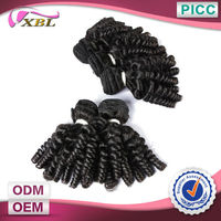 XBL New Arrivals Wholesale One Donor Hair New Hair Style Baby Curl Hairstyles For Short Hair