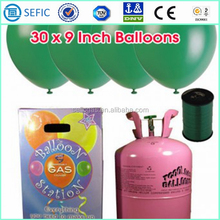 Export to Europe Birthdary Party Used Disposable Cylinder Gas Tank for Balloons Cylinder Helium Balloons Cylinder