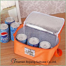 6 cans aluminum foil cooler bag