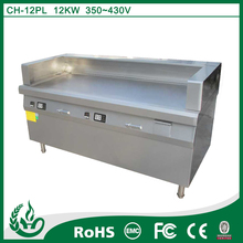 Commercial teppanyaki table cooking equipment with big heating area