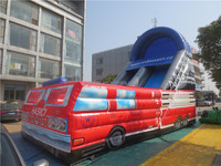 Various style giant inflatable slip and slide for sale
