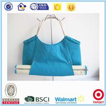 Fashion multicolor series canvas women beach tote handbag with mat